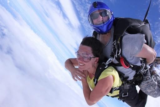 saut en parachute hawaii